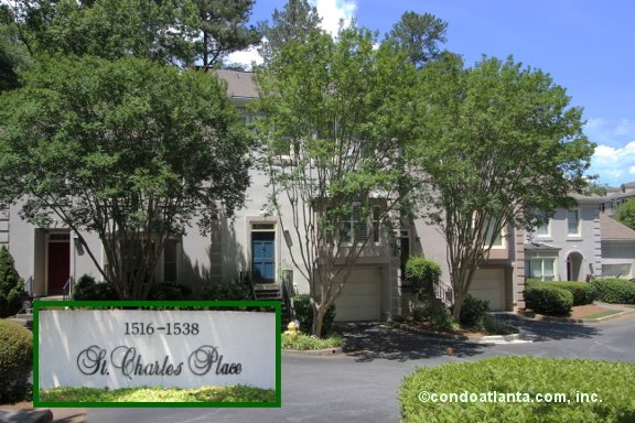 St. Charles Place Townhomes in Decatur Georgia