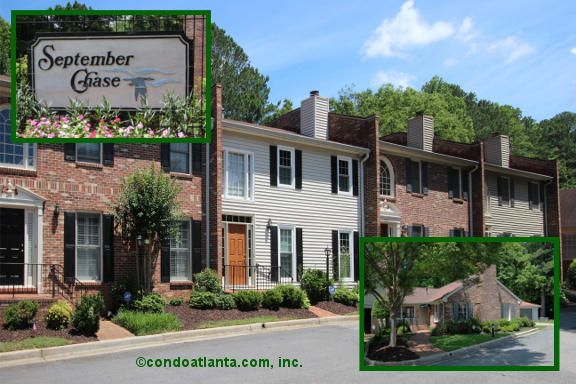 September Chase Townhomes in Decatur Georgia
