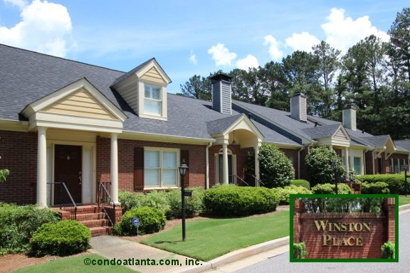 Winston Place Townhomes in Decatur Georgia