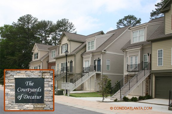 The Courtyards of Decatur Townhomes in Decatur Georgia