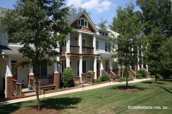 Hillside at Oakhurst Townhomes in Decatur Georgia