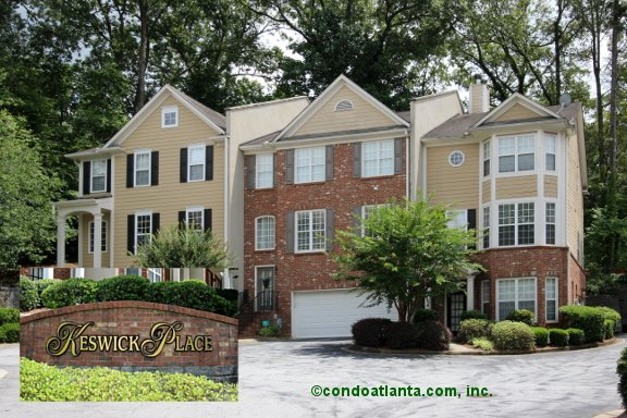 Keswick Place Townhomes in Decatur Georgia