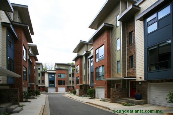 MODA Reynoldstown Townhomes in Atlanta Georgia