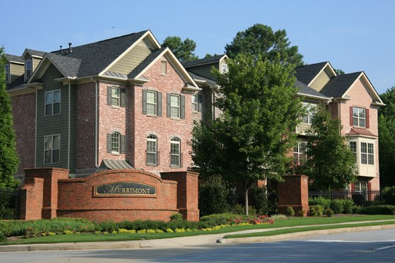 Merrimont Townhomes in Johns Creek Georgia