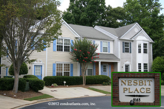Nesbit Place Townhomes in Johns Creek Georgia