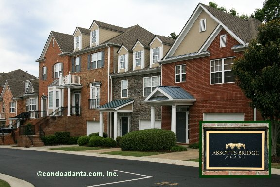 Abbotts Bridge Place Townhomes in Johns Creek Georgia