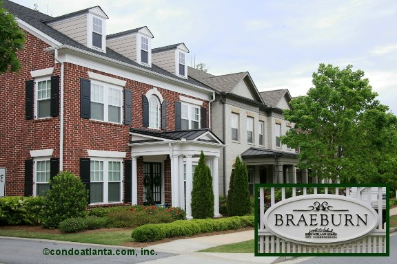 Braeburn Townhomes in Milton Georgia