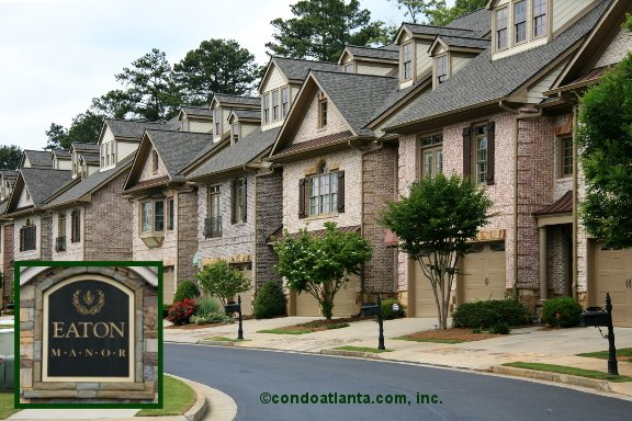 Eaton Manor Townhomes in Johns Creek Georgia