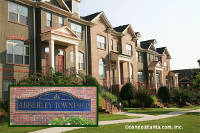Abberley Towneship Townhomes in Johns Creek Georgia