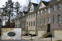 Abbotts Falls Townhomes in Johns Creek Georgia