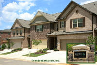 Cameron Parc Townhomes in Johns Creek Georgia