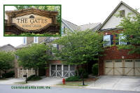 The Gates at Johns Creek Townhomes in Johns Creek Georgia