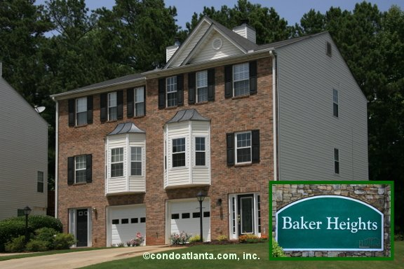 Baker Heights Townhomes in Acworth Georgia