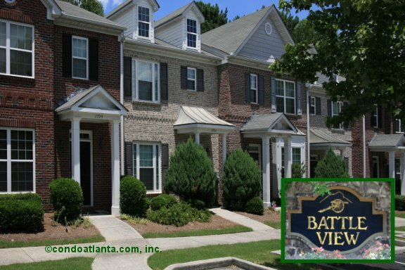 Battle View Townhomes in Kennesaw Georgia