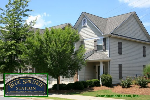 Blue Springs Station Townhomes in Kennesaw Georgia