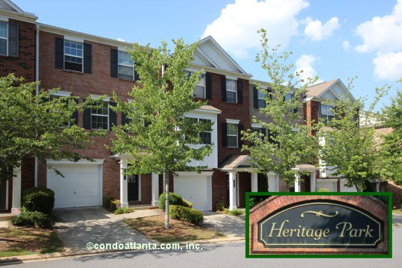 Heritage Park Townhomes in Kennesaw Georgia