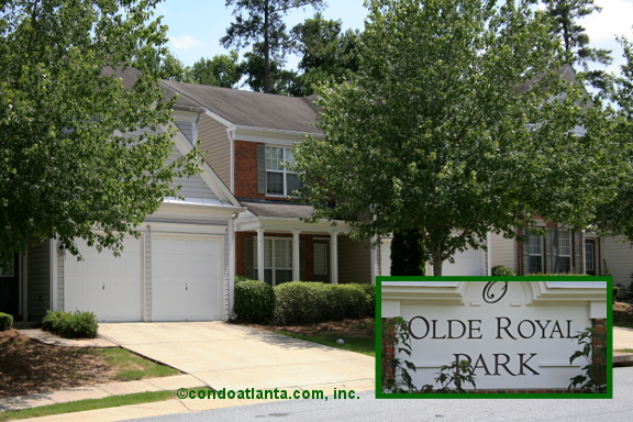 Olde Royal Park Townhomes in Kennesaw Georgia