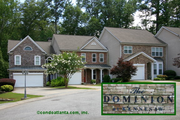 Dominion at Kennesaw Townhomes in Kennesaw Georgia