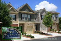 Cyrus Creek Townhomes in Kennesaw Georgia