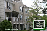 The Town Homes at Barrett Walk Townhomes in Kennesaw Georgia