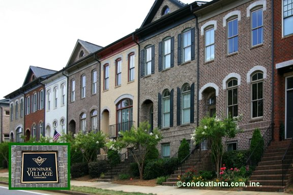 Townpark Village Townhomes in Kennesaw Georgia
