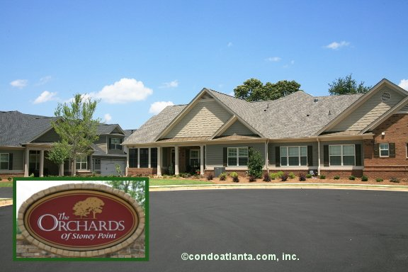 The Orchards of Stoney Pointe Ranch Condos in Cumming Georgia