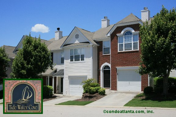 Tidewater Cove Townhomes in Flowery Branch Georgia