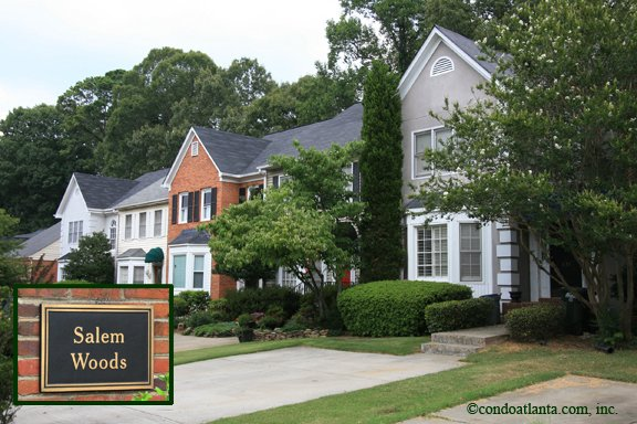 Salem Woods Townhomes in Marietta Georgia
