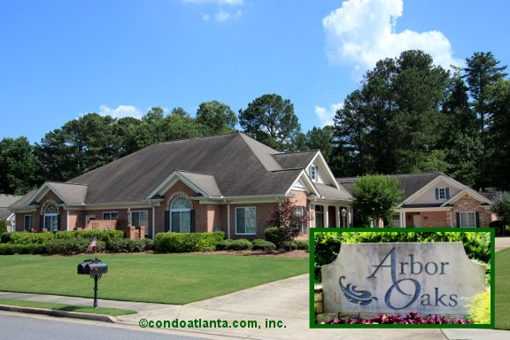 Arbor Oaks Ranch Condos in Marietta Georgia