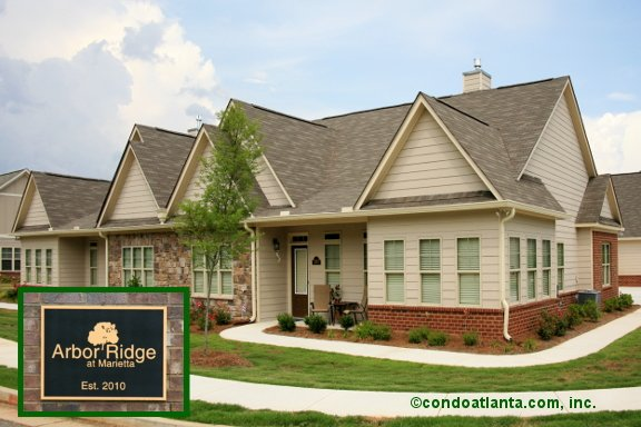 Arbor Ridge Ranch Condos in Marietta Georgia