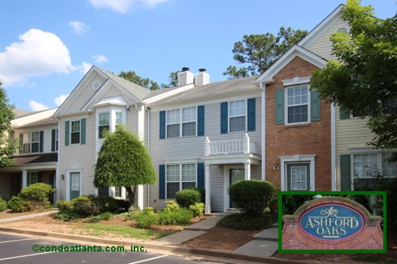 Ashford Oaks Townhomes in Marietta Georgia