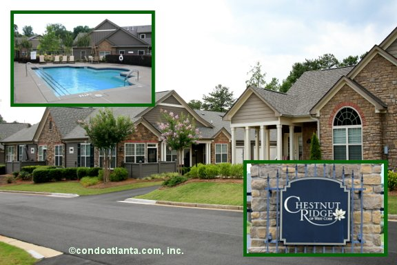 Chestnut Ridge of West Marietta Ranch Condos in Marietta Georgia