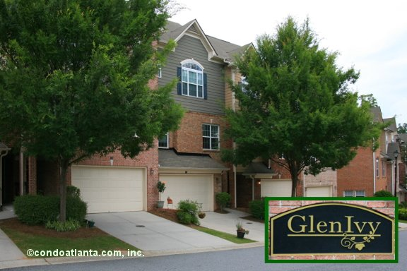 Glen Ivy Townhomes in Marietta Georgia
