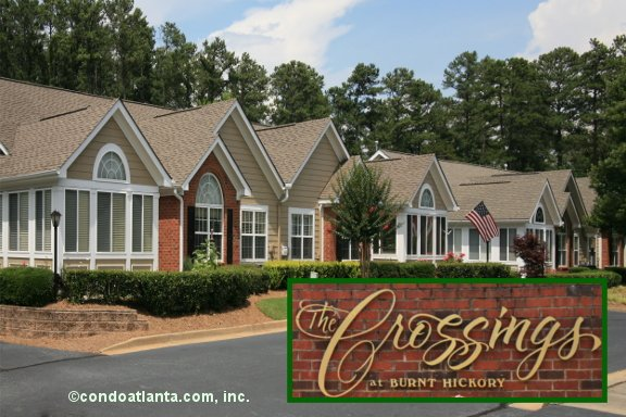 The Crossings at Burnt Hickory Ranch Condos in Marietta Georgia