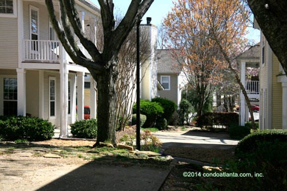 Candler Station Townhomes in Candler Park Atlanta Georgia