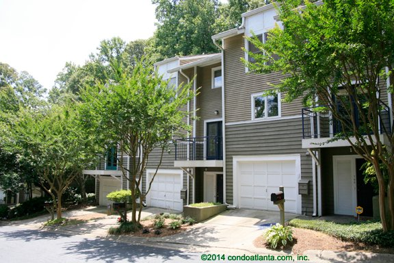 Morningside Wood Townhomes In Virginia Highland Atlanta Georgia