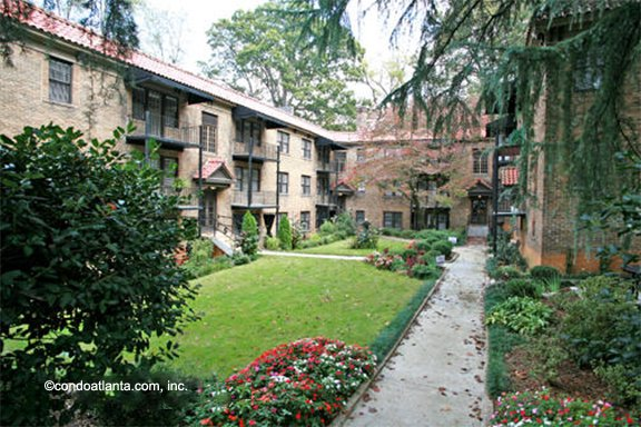 The Somerset Historic Condominiums in Midtown Atlanta Georgia