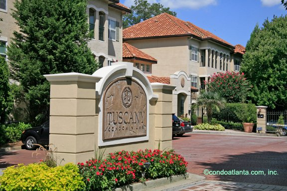 The Tuscany Condominiums in Midtown Atlanta Georgia