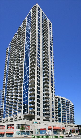 Twelve Centennial Park High Rise Condos in Atlanta Georgia