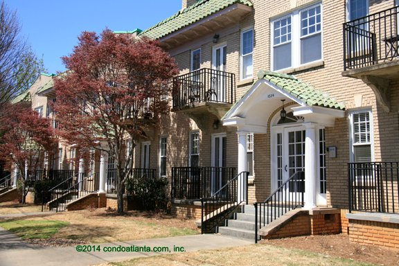 Virginia Heights Condominiums in Virginia Highland Atlanta Georgia