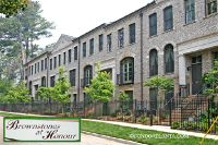 Brownstones at Honour Townhomes in Buckhead Atlanta Georgia