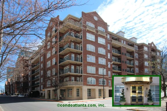 Cotting Court Condominiums in Midtown Atlanta Georgia