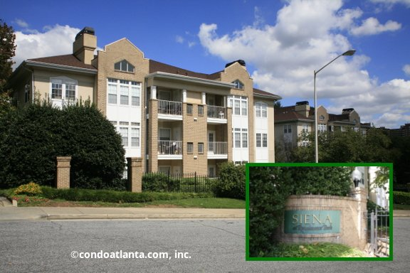 Siena at Renaissance Condominiums in Midtown Atlanta Georgia