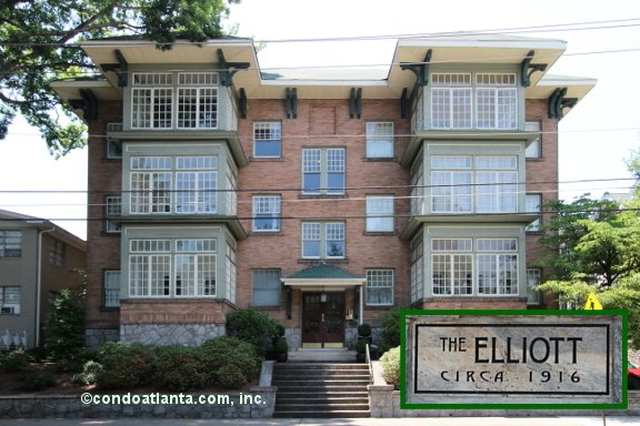 The Elliott Historic Condominiums in Midtown Atlanta Georgia