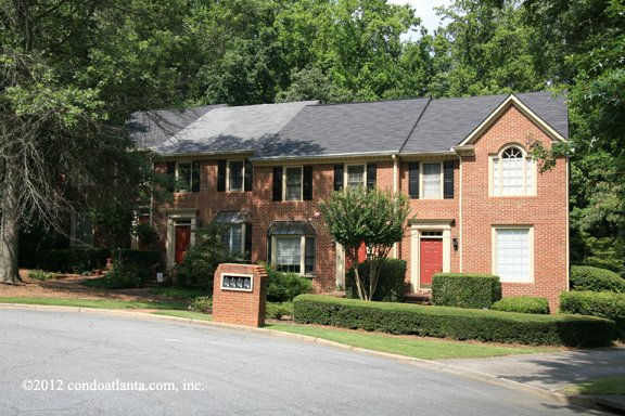 Weatherburne Townhomes in Roswell Georgia