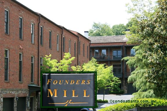 Founders Mill Townhomes in Roswell Georgia