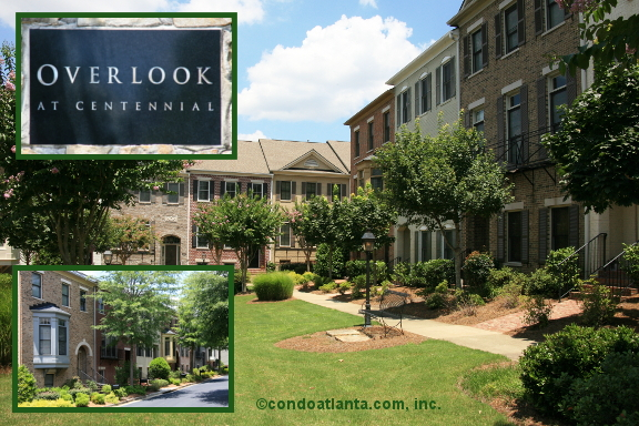 Overlook at Centennial Townhomes in Roswell Georgia