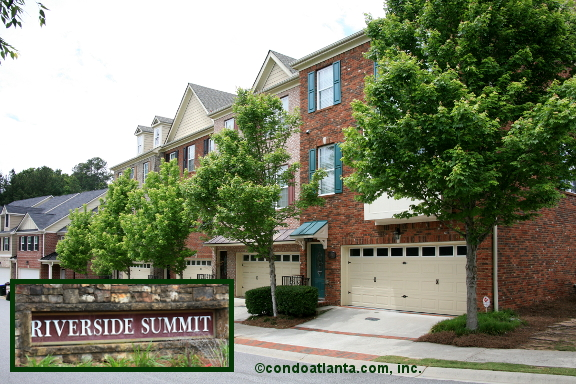Riverside Summit Townhomes in Roswell Georgia