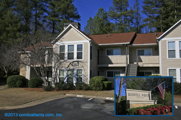 Roswell Pointe Condominiums in Roswell Georgia