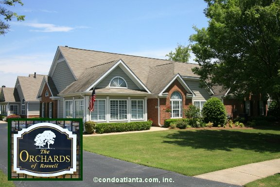 The Orchards of Roswell Ranch Condos in Roswell Georgia